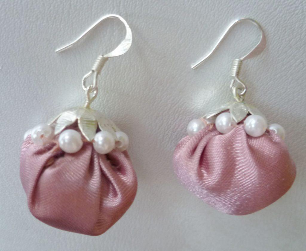 fabric jhumka earrings tutorial jewels of sayuri