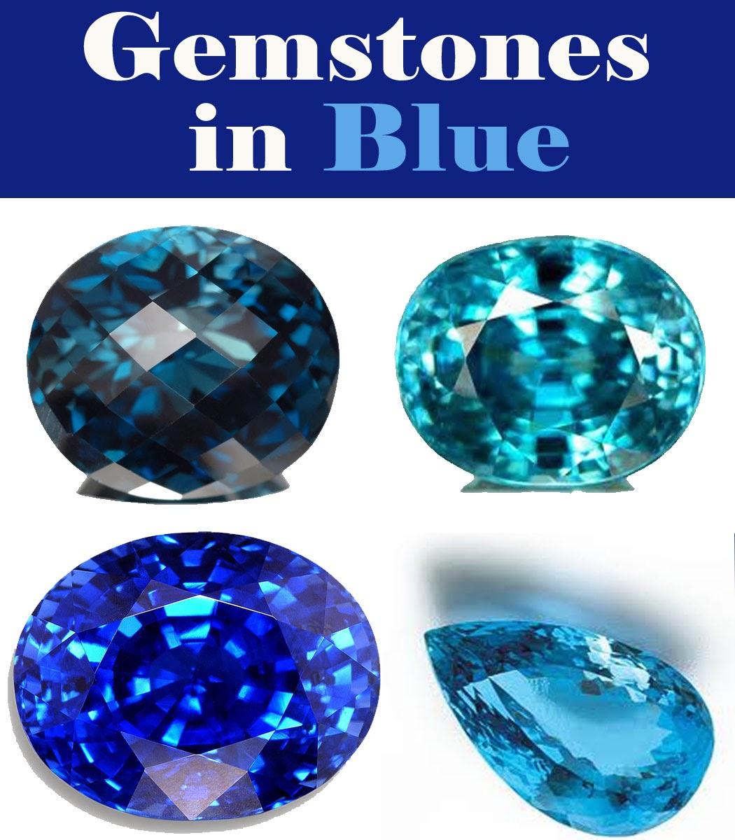 Gemstones in color - Blue | Jewels of sayuri