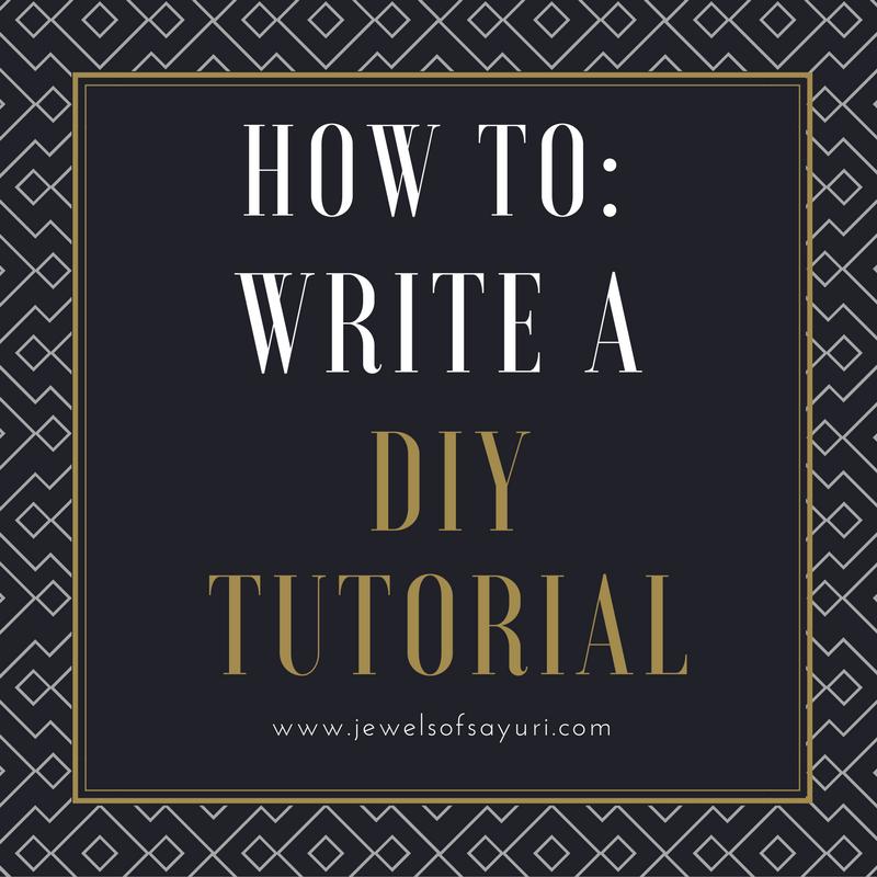 Write a tutorial